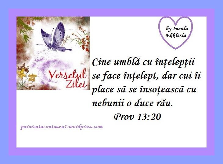 versetul zilei