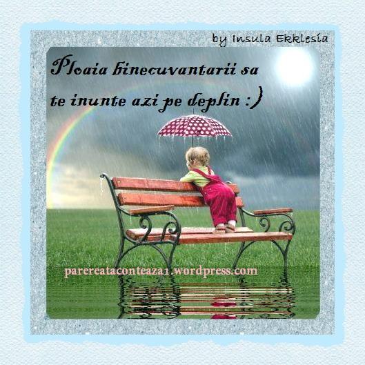 ploaie de binecuvantare